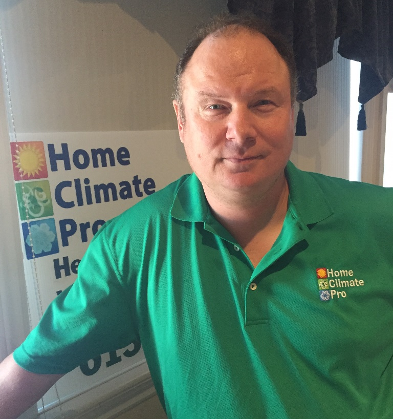 Mat Bloedorn, founder of Home Climate Pro